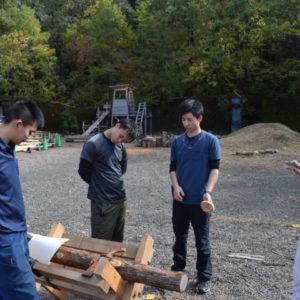 中学校 林業プログラム