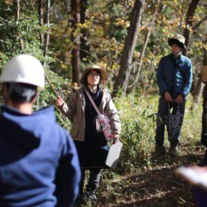 森のようちえん指導者スキルアップ(木のボディランゲージ)