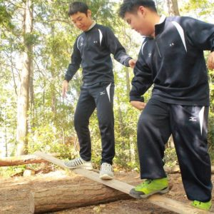 特別支援学校  森林体験