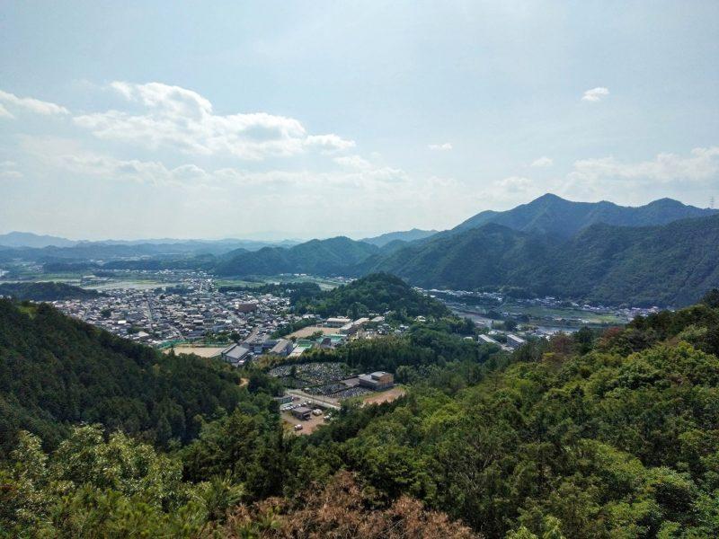 見晴らし岩からの眺め