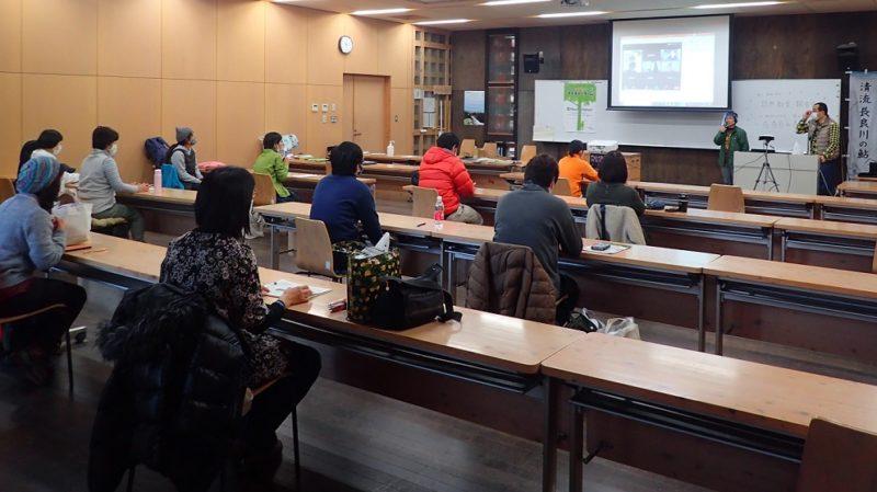 本日の参加者、岐阜県内の15名が直接、5名がリモート参加