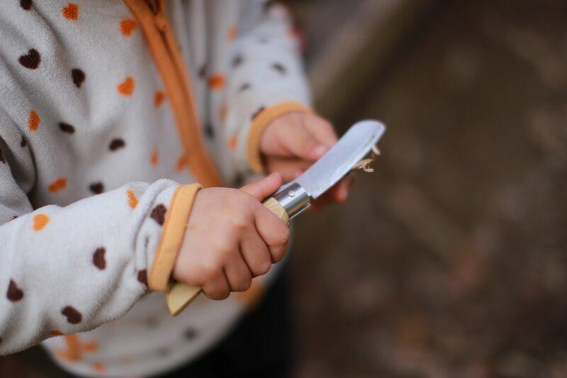 morinocoナイフを使う