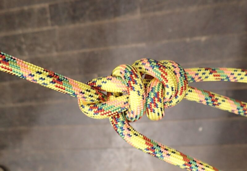 Bowline knot(もやい結び)
