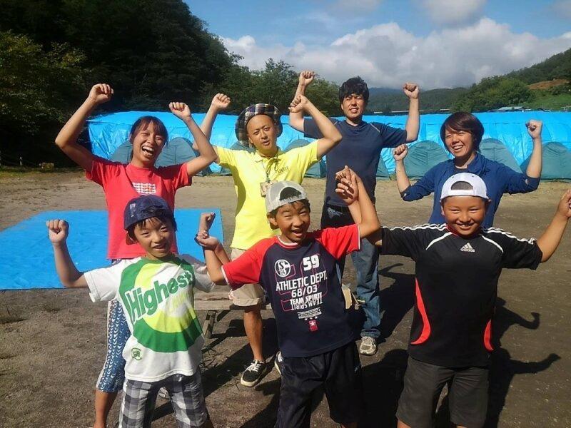 山賊キャンプ