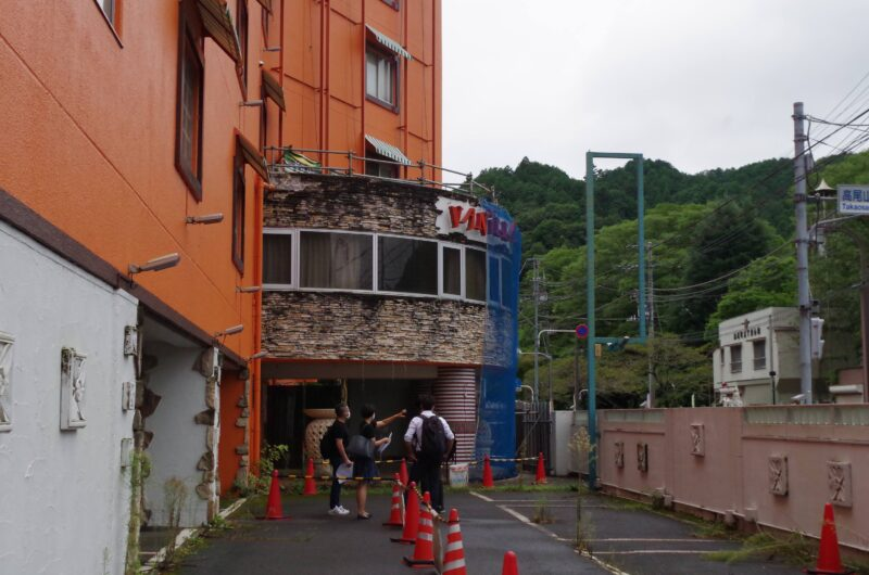改装前のホテル